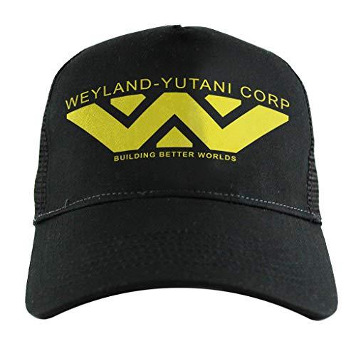 Weyland Yutani Corp Logo Alien Building Better Worlds, Trucker ()