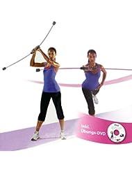 Swingstick Swing Stick mit DVD Trainingsstab Schwungstab Flexi-Stab Fitness ~nx 032 FL_16