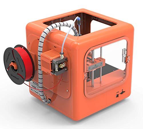 EasyThreed 3D Drucker | Dora| druckt autark, ohne PC (Orange) - 5