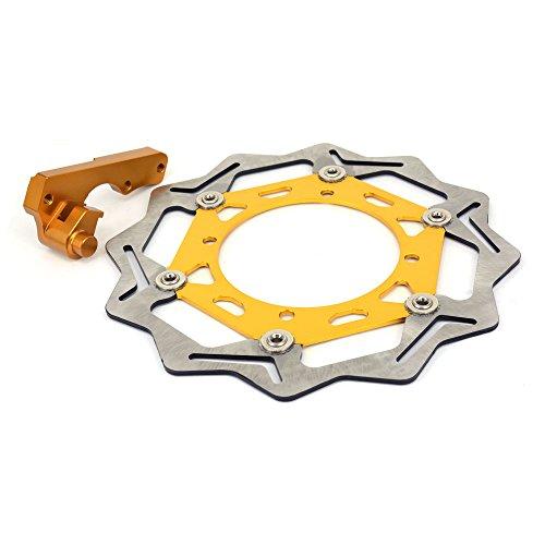 Fast Pro 245/mm en Acier Inoxydable Disque de Frein Avant Rotor pour Yamaha DT200/WR200/Dt230/Ttr250/Tt250r Yp250/Majesty