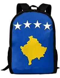 Kos Flag Adult Travel Backpack School Casual ypack Oxford Outdoor Laptop Bag College Computer Shoulder Bags