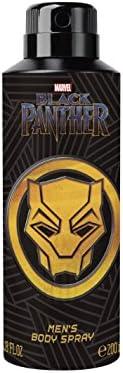 Marvel Black Panther Body Spray For Men, 200ml