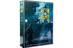 Asmodee Italia Watson & Holmes Juego de Mesa, Color Azul, scwh01it