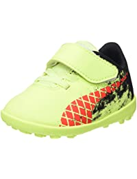 Puma Future 18.4 TT V Inf, Zapatos de Futsal Unisex Niños