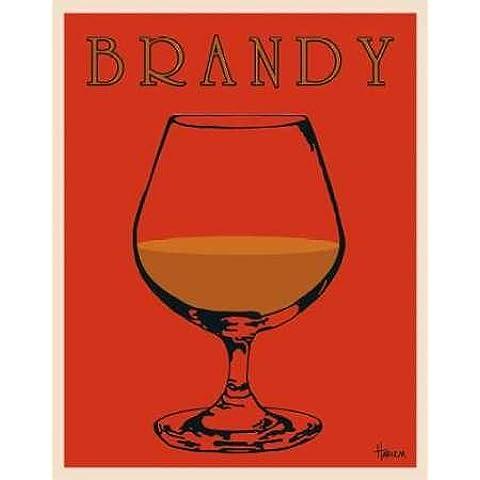Feelingathome.it, STAMPA SU TELA 100% cotone INTELAIATA Brandy cm 71x56 (dimensioni personalizzabili a richiesta)