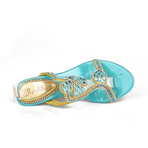 Femme Bleu Pour Chaussons Femme Pour Chaussons Unicoratha Bleu zxUHqOwa5