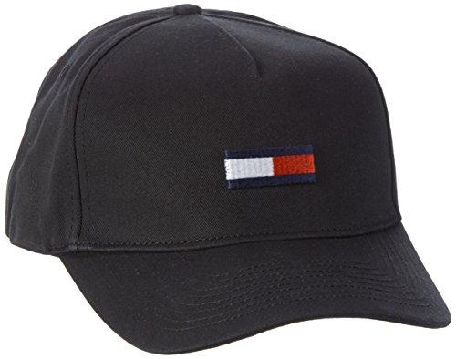 Hilfiger Denim Thdm Flag Cap 11, Berretto Uomo, Nero (Tommy Black), Taglia Unica (Taglia Produttore: OS)
