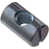 RONFAR Tuerca cilíndrica simétrico M6 x 10 x 13 mm 50 piezas