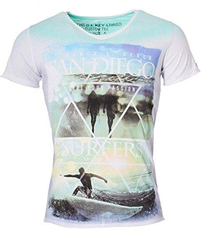 key-largo-herren-vintage-used-destroyed-look-surf-style-t-shirt-san-diego-v-neck-tiefer-v-ausschnitt