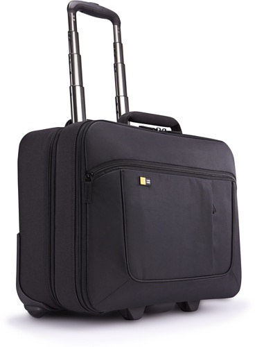 Case Logic ANR317K Notebook Roller 43,9 cm (17,3 Zoll) Trolley mit Laptop- & iPad-Fach Schwarz Roller Laptop Case