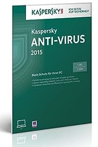 Kaspersky Anti-Virus 2015 - 1 PC (Frustfreie Verpackung)
