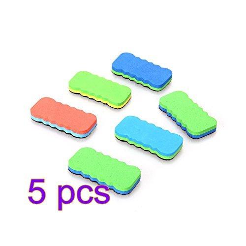 soothiing Lavagna Magnetica Lavagna cancellabile Gomme detergenti colore casuale (5pcs)