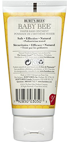 Burt's Bees Baby Bee Diaper Ointment (Baby-Wundsalbe), 1er Pack (1 x 85 g) - 2