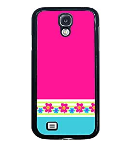 Fuson Classic Pink Color Design Designer Back Case Cover for Samsung Galaxy S4 Mini I9195I :: Samsung I9190 Galaxy S4 Mini :: Samsung I9190 Galaxy S Iv Mini :: Samsung I9190 Galaxy S4 Mini Duos :: Samsung Galaxy S4 Mini Plus (Ethnic Pattern Patterns Floral Decorative Abstact Love Lovely Beauty)
