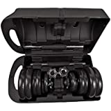Knight Adjustable Dumbbells 10, 15, 20, 30, to 50 kgs Sets with Case