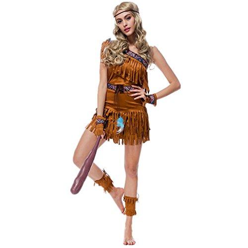 Imagen de disfraz de india para mujer cosplay halloween carnaval talla xl