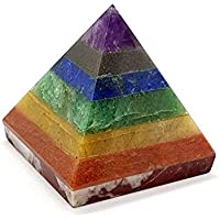 Energie 7Chakra Bonded Kristall Pyramide Natürliche Edelstein Reiki Leistungsstark preisvergleich bei billige-tabletten.eu