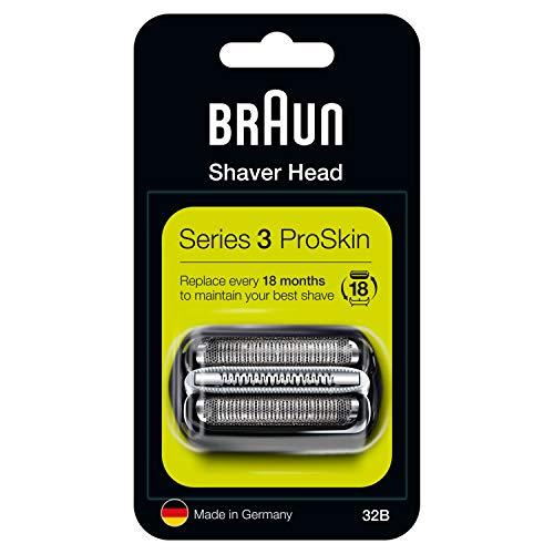 Braun Series 3 32B Elektrischer Rasierer Scherkopfkassette - schwarz