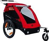 Burley Remolque de Bicicleta Honey Bee-Children Trailer Cycle, Red, 89.0X 76.7X 92.1cm, 949203