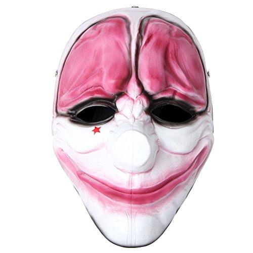 Payday 2 The Heist Hoxton Maske Halloween Maske Kostüm Requisiten Replica ()