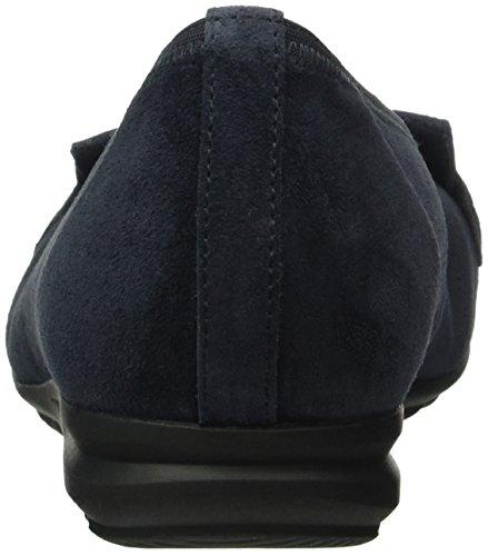 Gabor Comfort Sport, Mocassins Femme Bleu (Ocean 46)