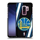 Head Case Designs Offizielle NBA Linien Golden State Warriors 2 Soft Gel Hülle Schwarz für Samsung Galaxy S9+ / S9 Plus
