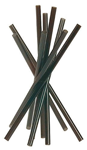 PIAZZA - CANNUCCE DIRITTE COLORE: NERO (CONF. DA MILLE PEZZI) 13CM 515300