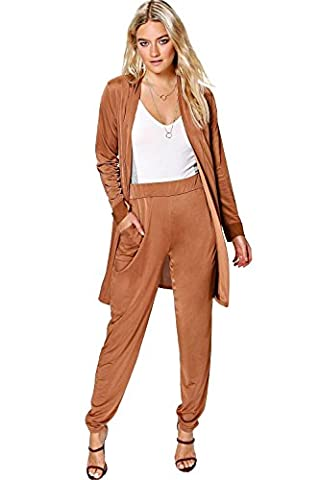 Bronze Femmes Jessica Slinky Tapered pantalons & Co-Ord Duster - 10