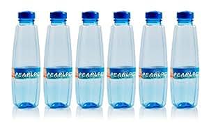 Pearlpet Supreme PET Bottle Set, 1 Litre, Set of 6, Blue
