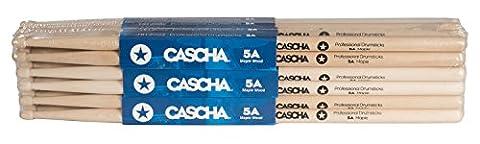 CASCHA HH 2039 Professional Drum-Sticks, 12 Paar (24 Stück)