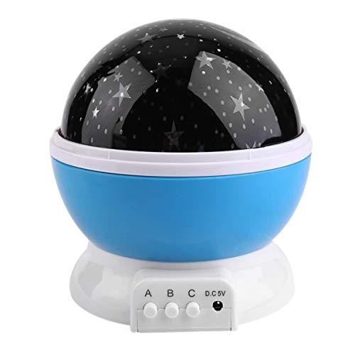 Ulighting Lámpara de iluminación Nocturna LED, proyector Moon Star ...