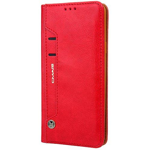 Funda cartera de Samsung Galaxy S9 Pluscon una solapa para llevar tarjeta de...