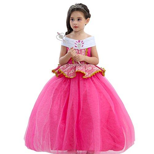 Kidslove Neu Prinzessin Kostüm Prinzessin Kleid Karneval Cosplay Kleid Mädchen Kleid Party kostüm (Party Kostüme Thema Karneval)