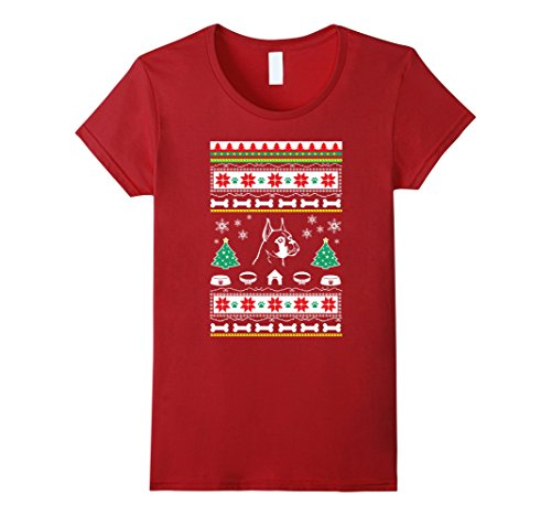 Boxer gifts for women or men ugly Christmas sweater look