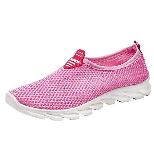 Homebaby Estate Scarpe Sportive Donna Traspiranti Leggera Eleganti Ragazza Slip-On Sneakers Ginnastica Casuale Scarpe da Corsa Running Studente Autunno