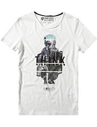 Strellson Sportswear Herren T-Shirt J-Teriq Shortsleeve, Größe: L, Farbe: Weiß