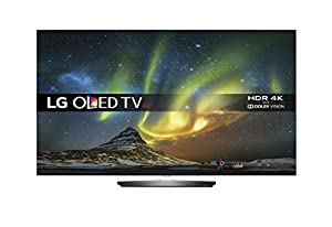 LG OLED55B6V 4K Ultra HD OLED Flat Smart TV webOS (2016 Model) - Black