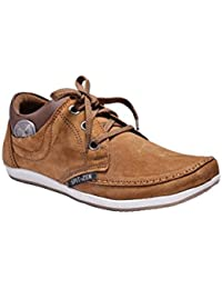 Royal Bronze Men's Stylish Tan Color Corporate Office Wear Shoes/Casual Sneaker Lace-up Derby Shoe/Party Wear...