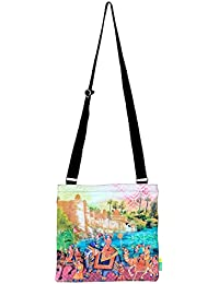 Eco Corner Indian Art Parade Cotton Sling Bag