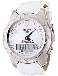 Tissot Damen-Armbanduhr XL T-Touch II Analog - Digital Leder T0472204611600