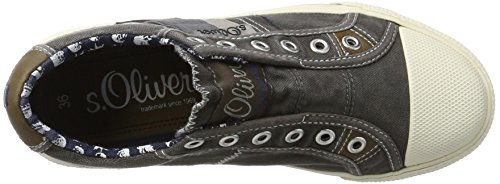 s.Oliver Jungen 54106 Low-Top Grau (GREY 200)