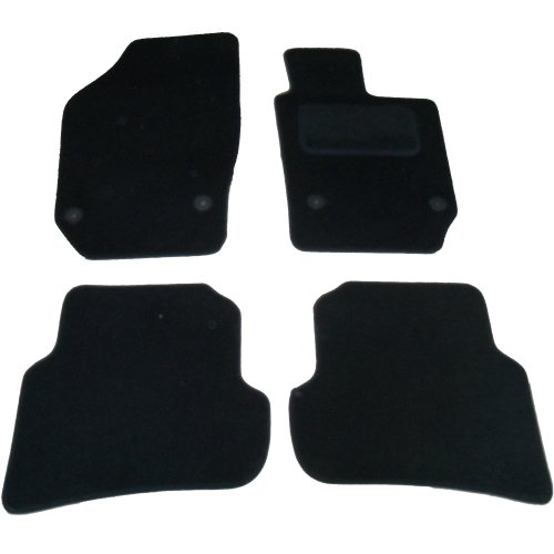 Sakura Car Mats, Black