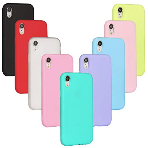 XiaoXiMi - 9 x Cover per iPhone 11 Pro Max Custodia Ultra Sottile