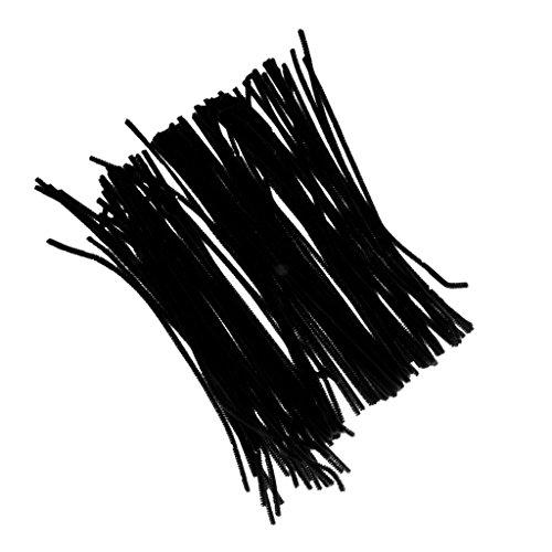 cable-peluche-tige-de-chenille-artisanat-jouet-enfant-educatif-accs-fabrication-poupee-noir