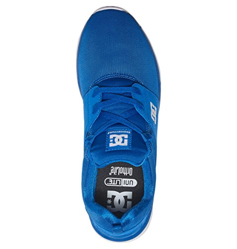 DC Heathrow Skate Shoe, Black/Grey/Green, 14 M US Royal