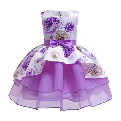 Kostüm Kleinkind Elsa Für - Quaan Sommer Kleinkind Baby Mädchen ärmellose Dot Print Weste Bowknot Kleid Kleidung Prinzessin Anna Kleid Schnee königin ELSA Kostüm Party Kleid
