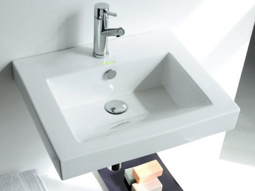 The Bath Collection-funchal lavello rettangolare 44,5 *55 *17,5 cm.