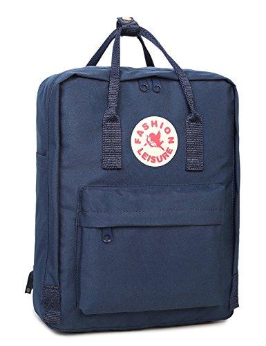 Tibes Zaino Della Scuola Borsa Zaino Backpack Laptop Schoolbag Zaino Per Scuola Zaino Per Pc Profondo blu