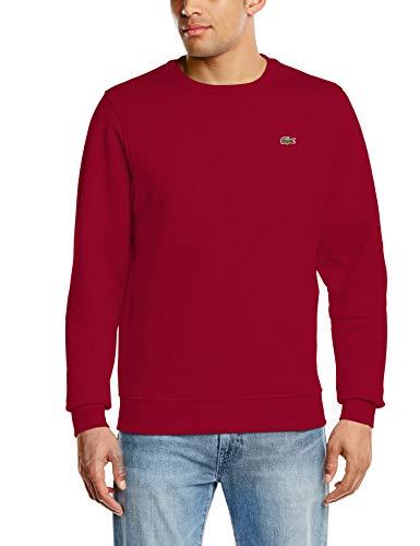 7 Sweatshirt (Lacoste Sport Herren Sh7613 Sweatshirt, Rot (Bordeaux 476), XX-Large (Herstellergröße: 7))