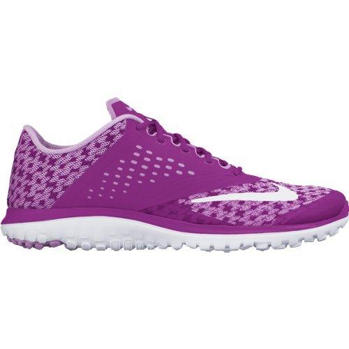 Nike Wmns Fs Lite Run 2 Prem Scarpe da Corsa, Donna, Rosa/Bianco, 40 Rosa/Bianco